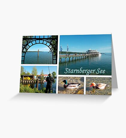 Starnberger See Impressions Greeting Card