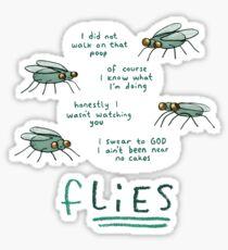 fLIES Sticker