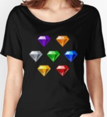 Chaos Emeralds Women's Relaxed Fit T-Shirt