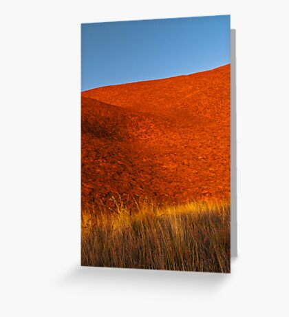 Colours of the Desert Greeting Card