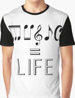 Music is life  Graphic T-Shirt