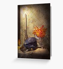 Americana - Civil War - Still waiting for him to come home Greeting Card