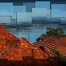 Warners Bay - Hockney style by Robyn Selem