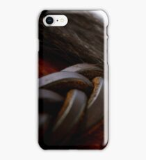"""""""Leather and hair"""" for iphone iPhone Case/Skin"""
