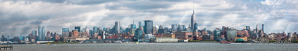 City - Skyline - Hoboken, NJ - The ever changing skyline by Michael Savad