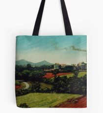 View of the South Johnstone Mill  Tote Bag
