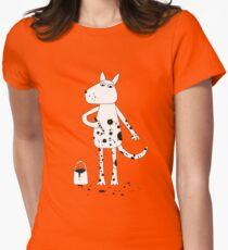 Dalmatian? Womens Fitted T-Shirt