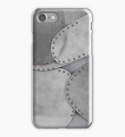 Hand Riveted Metal Plating iPhone Case/Skin
