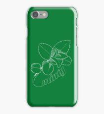 Minty Fresh Sensation, White version iPhone Case/Skin