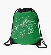 Minty Fresh Sensation, White version Drawstring Bag