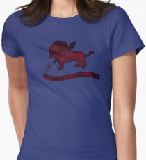 Crest (Filled) Women's Fitted T-Shirt
