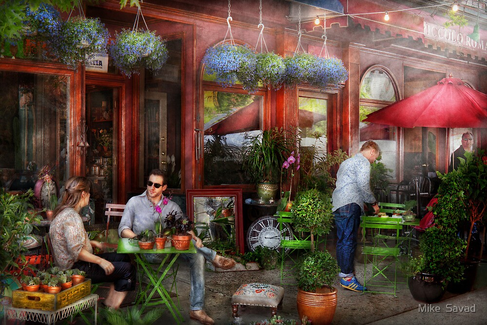 Cafe - Hoboken, NJ - A day out  by Michael Savad