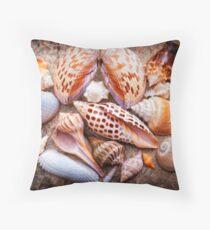 Seashells of Sanibel Island Throw Pillow