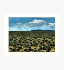 Filled with Sagebrush Art Print