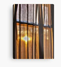 Looking through my Window Metal Print
