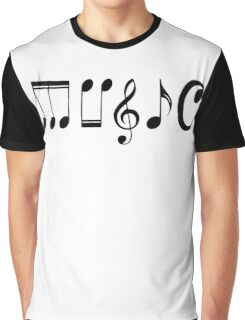 Music Logo  Graphic T-Shirt