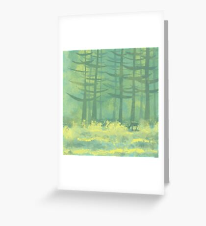 The Clearing Greeting Card