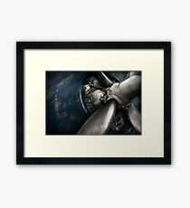 Plane - Pilot - Prop - You are clear to go Framed Print