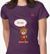 GeekGirl - Brown SwearBear T-Shirt