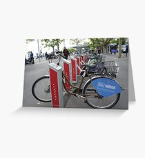It is not Boris cycles Greeting Card