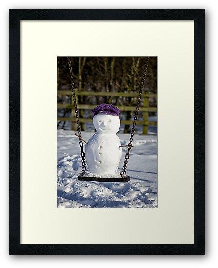 Swinging Snowman by FranJ