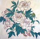 White Peonies by bettymmwong