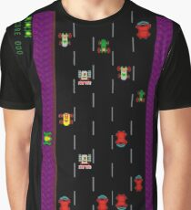 Men's Frogger Road Graphic T-shirt - S to 2XL