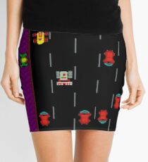 Frogger Road Mini Skirt for Women - XXS to XXL