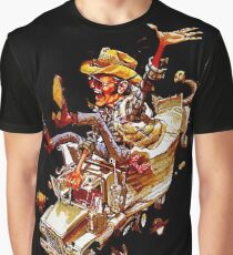 Jerry and the Bandit. Awesome mashup. Graphic T-Shirt