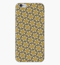 Brown Kaleidoscope Pattern iPhone case iPhone Case