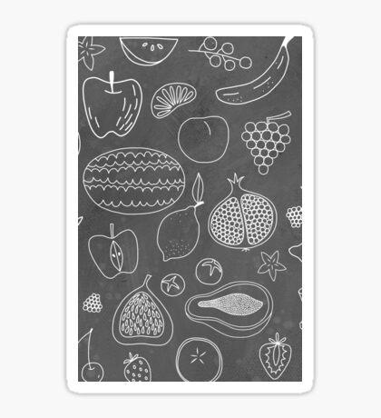 Fruity Drawings Sticker