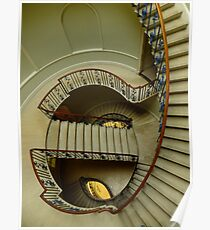 Stairs at Somerset House Poster