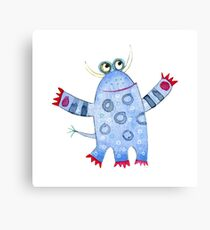 Monster Fred Canvas Print