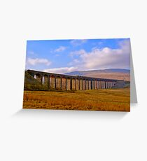 Whernside - Trainscape Greeting Card