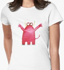 Monster Mavis Womens Fitted T-Shirt