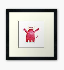 Monster Mavis Framed Print