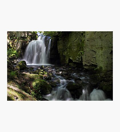 Waterfalls at Lumsdale II Photographic Print
