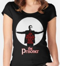 The Prisoner - I AM NOT A NUMBER! Women's Fitted Scoop T-Shirt