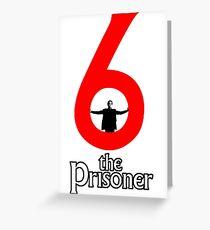 Number 6 - The Prisoner Greeting Card