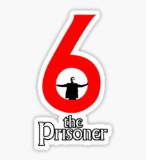 Number 6 - The Prisoner Sticker