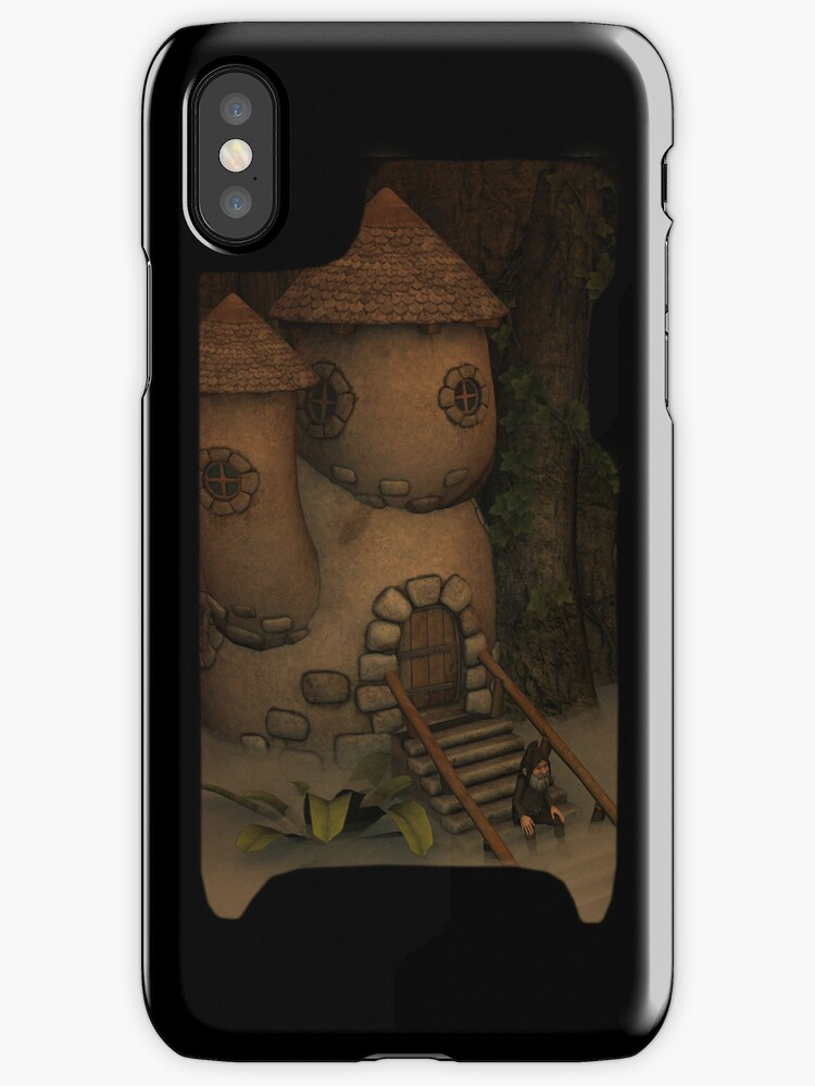 Iphone Cover - Foggy Morning by Pendraia