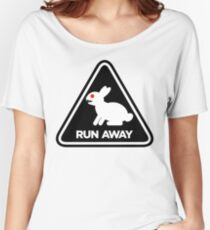Killer Rabbit (Black) Women's Relaxed Fit T-Shirt