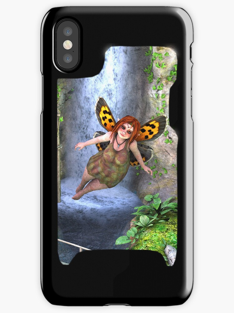 Iphone Cover - Faerie by Pendraia