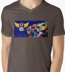 UFO Robot - Goldrake Mens V-Neck T-Shirt