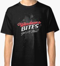 Windows Bites - Get a Mac!  |  for Dark Colors Classic T-Shirt