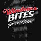 Windows Bites - Get a Mac!  |  for Dark Colors by Jim Felder