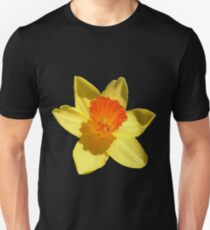 Daffodil Emblem Isolated Unisex T-Shirt