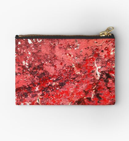 Red Paint Studio Pouch