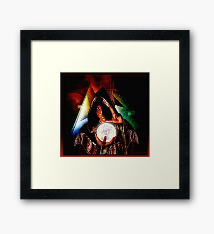 The Wizard Framed Print