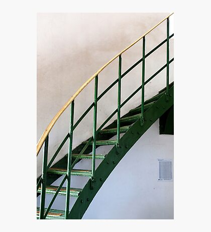 The Green Staircase Photographic Print